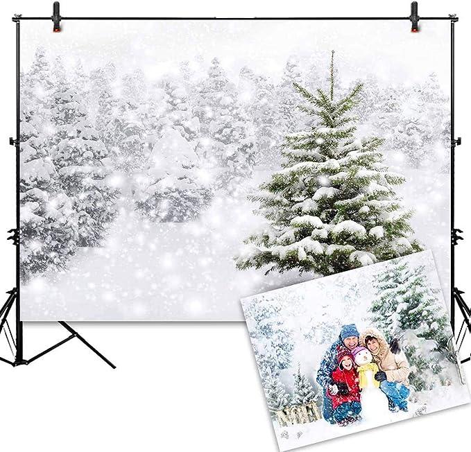 Allenjoy 2 1 X 1 5 M Dünner Vinyl Weihnachts Hintergrund Kamera