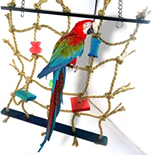 New Parrot Birds Climbing Net Jungle Rope Animals Toy Swing Ladder Chew Discounts Sale Bathroom Fixtures Bathroom Hardware