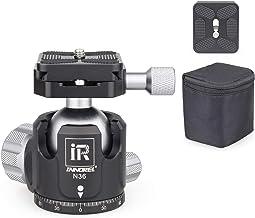 Low Profile Tripod Ball Head-INNOREL N36, Panoramic CNC Metal Camera Tripod Ball Head with Two 1/4