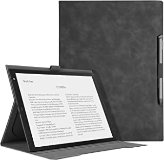 """Ayotu Skin Touch Feeling Folding Cover for Sony DPT-RP1/B 13"""" Digital Paper,Light and Thin Case with Stand Function and Pen Slot for Sony DPT-RP1"""