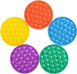 JOYWAY Push pop Bubble Sensory Fidget Toy, Autism Special Needs Stress Reliever,Squeeze Sensory Toy, Silicone Stress Relie...