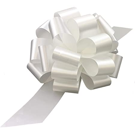 Gift Bows 15 bows SILVER WHITE STRIPED  3 inch Star Bows      B4Bow22