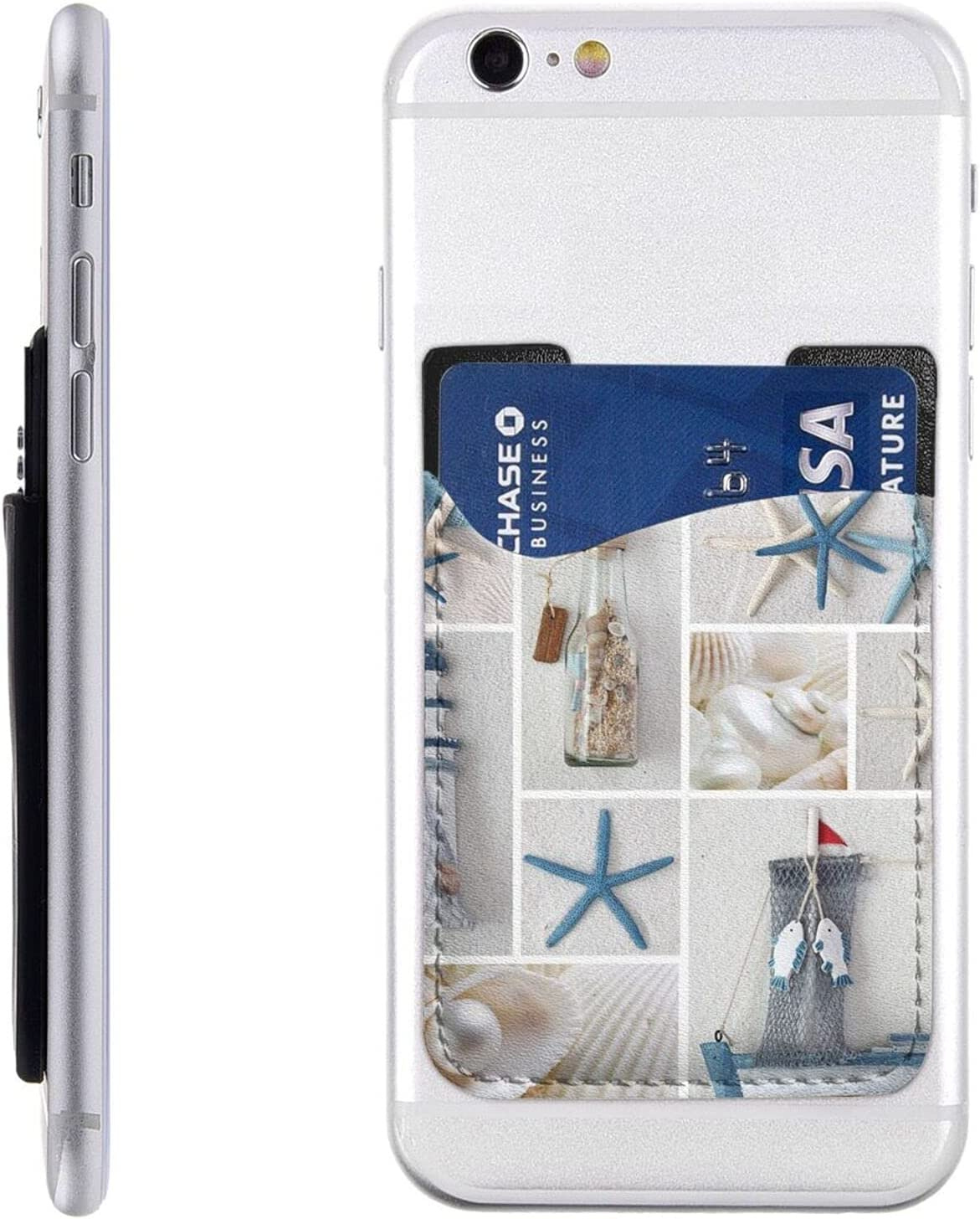 Starfish and Over item handling ☆ Lighthouse Super beauty product restock quality top Phone Card Holder On Ca Cell Stick