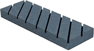 Nordstrand Flattening Stone - Sharpening Tool for Re-Leveling Waterstone, Whetstone, Oil Stones - Coarse Grinding Lapping Plate with Grooves and Rough Grit - Flattener Fixer Sharpener for Waterstones
