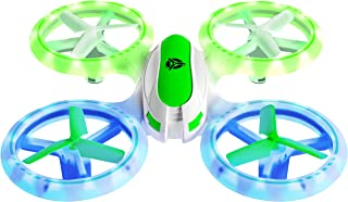Force1 Mini Drones for Kids – UFO 3000 Small Drones for Beginners w/ 2 Kids Drone Battery Cells, Mini Quadcopter LEDs and Easy Toy Drone Remote Control