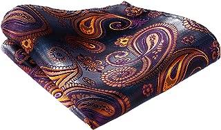 Men's Paisley Wedding Party Pocket Square Handkerchief