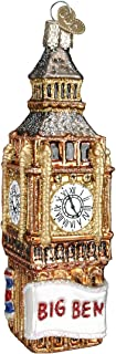 Old World Christmas Cities, Places and Landmarks Glass Blown Ornaments for Christmas Tree Big Ben