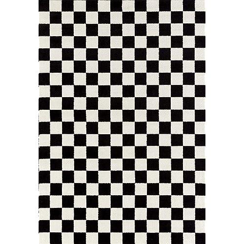 Black And White Rugs Amazon Com