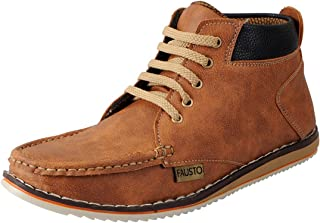FAUSTO Men's Outdoor Hiking Shoes