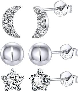 mini star stud earrings
