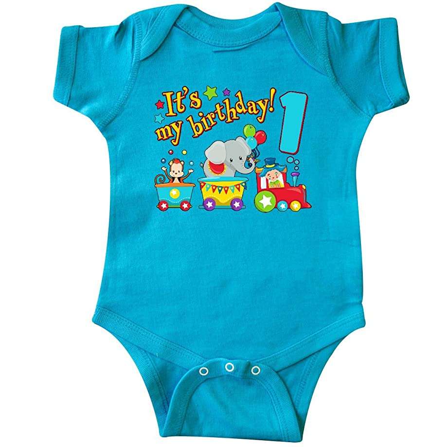 inktastic - It's My Birthday- Circus Train 1st Birthday Infant Creeper 2e92e