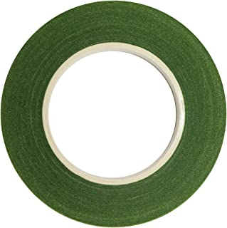 DECORA 1 roll 1/2-inch by 30 Yard Green Floral Tape for Bouquet Stem Wrap Floral Arranging Craft Projects Corsages, Wedding Bouquet