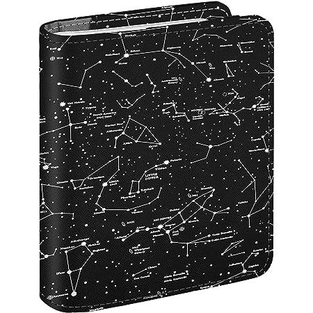 Fintie Álbum de Fotos para Fujifilm Instax - 104 Fotos Álbum de Fotografías de Cuero Sintético para Película de 3 Pulgadas para Mini 11 Mini 9 Mini 8+ Mini 8 Mini 90 Mini 70, Constelación