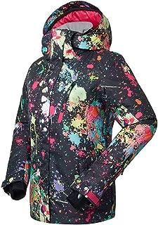 Warm Winter Snowboard Jacket for Women, Waterproof Windproof Coats, Snow Jackets for Winter Skiing & Snowboarding, Thermal Jacket Gift
