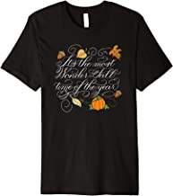 Fall Autumn-Its the most Wonder-Fall time of the year  Premium T-Shirt