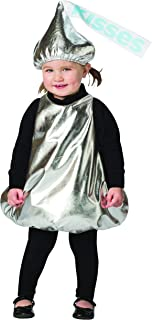 Child's Classic Hershey's Kiss Wrapper Chocolate Candy Baby Costume