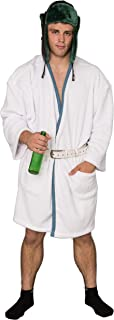 Christmas Vacation Cousin Eddie White Robe and Belt Costume Set
