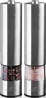 Best menu salt and pepper grinders stainless steel Reviews