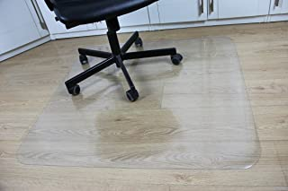 92b35be726b Office Desk Chair Mat for Hard Wood Floor PVC Clear Protection Floor Mat  (Hardwood)