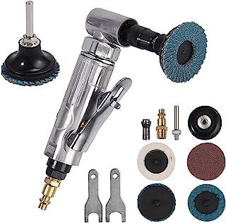 """EyPiNS Compressed Air Angle Die Grinder 1/4"""" 90 Degree Mini Sander Grinder Polisher Tool for Contour Grinding,Polishing, M..."""