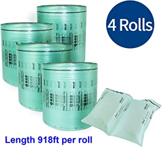 """Mini Air Easi Bubble cushion packing Film Roll 4x8"""" inch(W8`` x L918 ft)- 4 rolls ---FOR MINI AIR EASI MACHINE USE ONLY"""