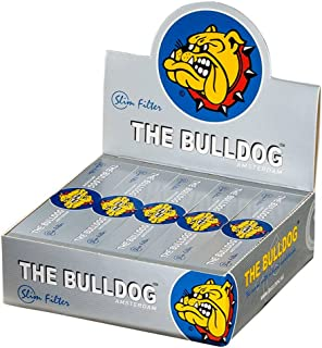 The Bulldog Slim Perforated Rolling Tips - Box of 50