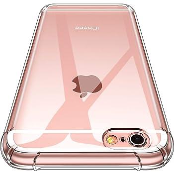 CANSHN iPhone 6 Hülle, iPhone 6S Hülle, Hochwertig Transparent Weiche Durchsichtig Dünn Handyhülle mit TPU Stoßfest Fallschutz Bumper Case Cover für Apple iPhone 6 & iPhone 6S 4.7'' - Klar
