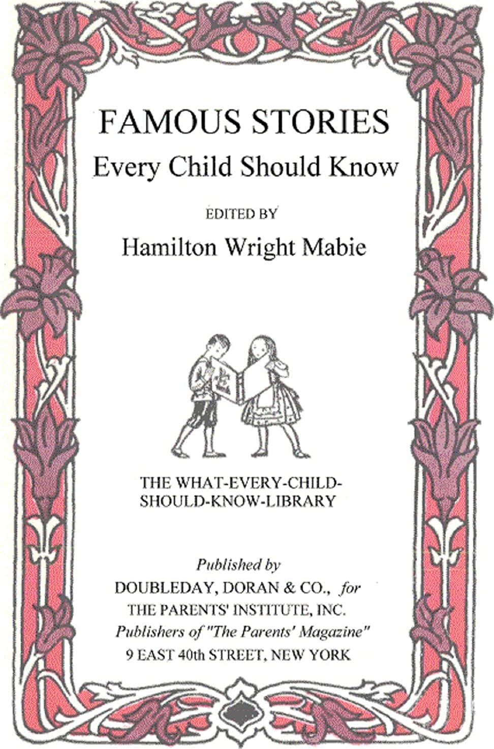 騒乱マイコン生産性Famous Stories Every Child Should Know (English Edition)