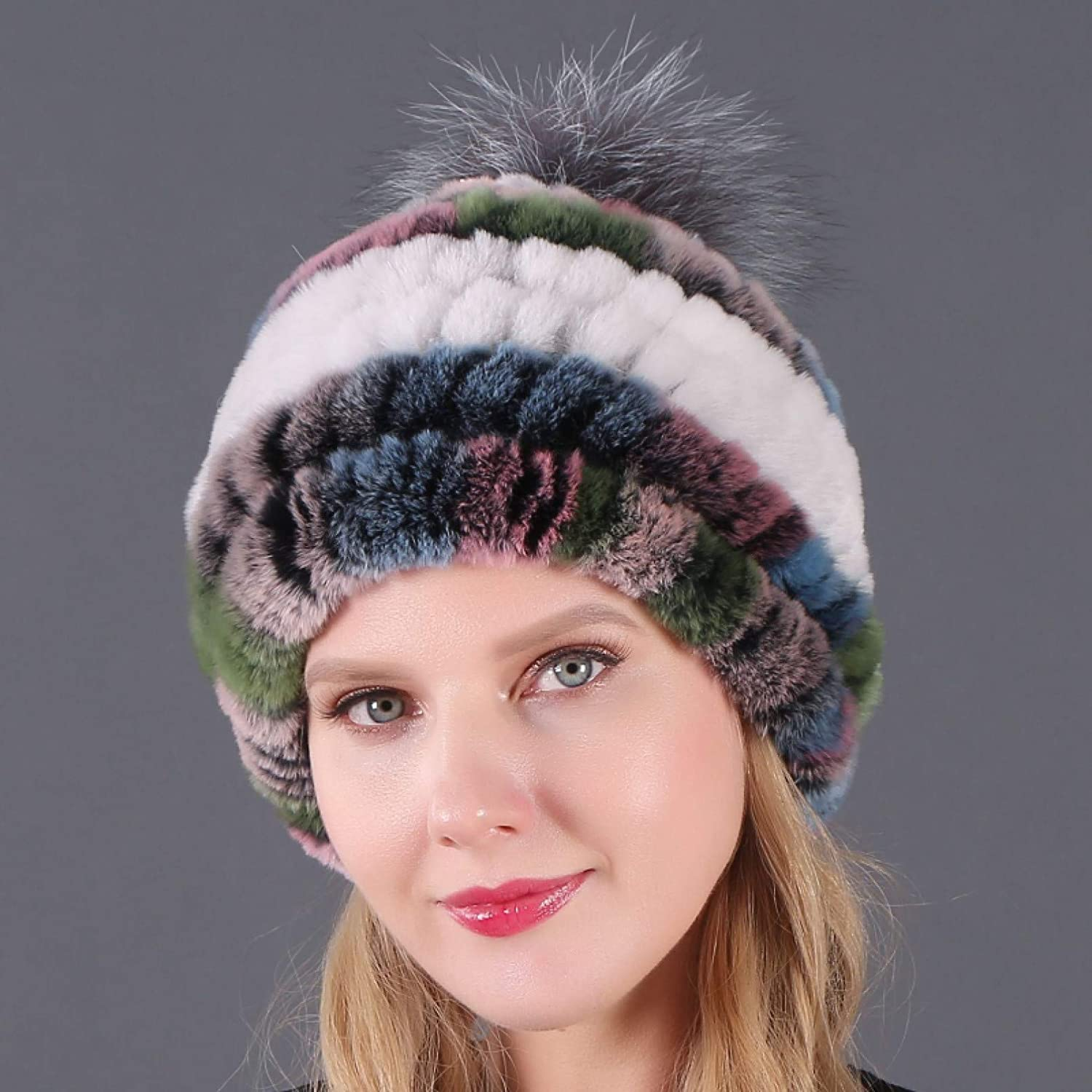 BELEMON Bomber Women Winter Hat Female Spring new work one after another Faux Warm R Thick Beanies Indefinitely