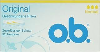 O. B. Original Tampones Normal, 1er Pack (1 X 32 Pieza