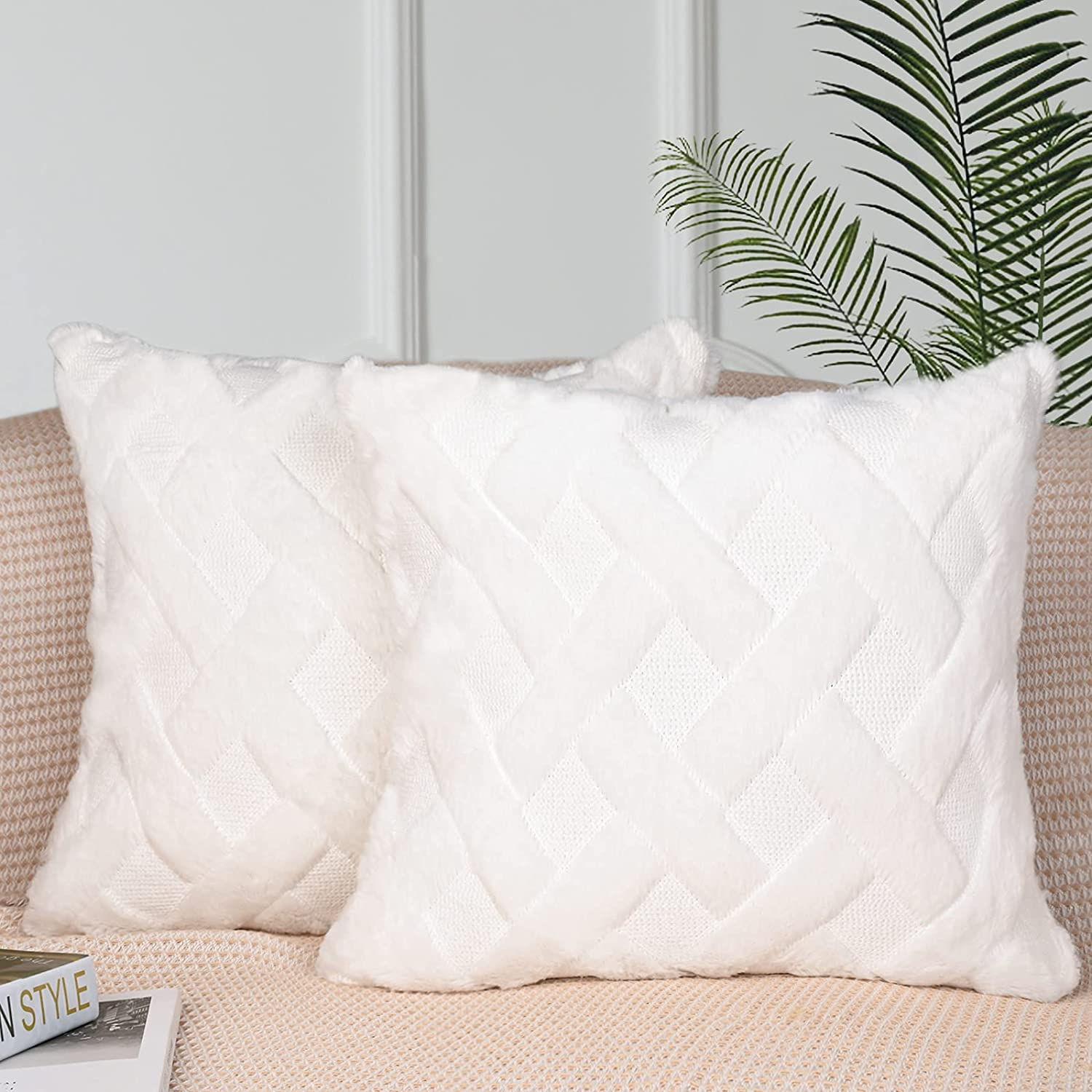 GRAREND Throw Pillow Covers 18x18 Decorative C Quality inspection Farmhouse Max 41% OFF