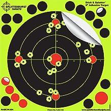Splatterburst Targets - 8 inch Stick & Splatter Self Adhesive Shooting Targets - Gun - Rifle - Pistol - Airsoft - BB Gun -...
