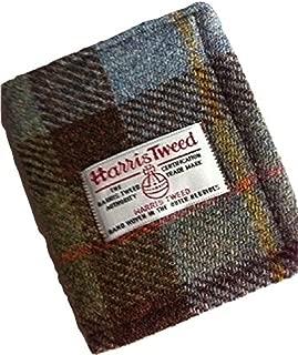 Harris Tweed Man's Wallet - Hunting Macleod Plaid Design