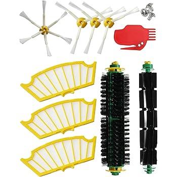 MIRTUX Kit de recambios para Roomba serie 500 505 521 510 530 531 ...