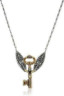Alex and Ani Women's Harry Potter Alohomora 20 inch Necklace, Rafaelian Silver, One Size