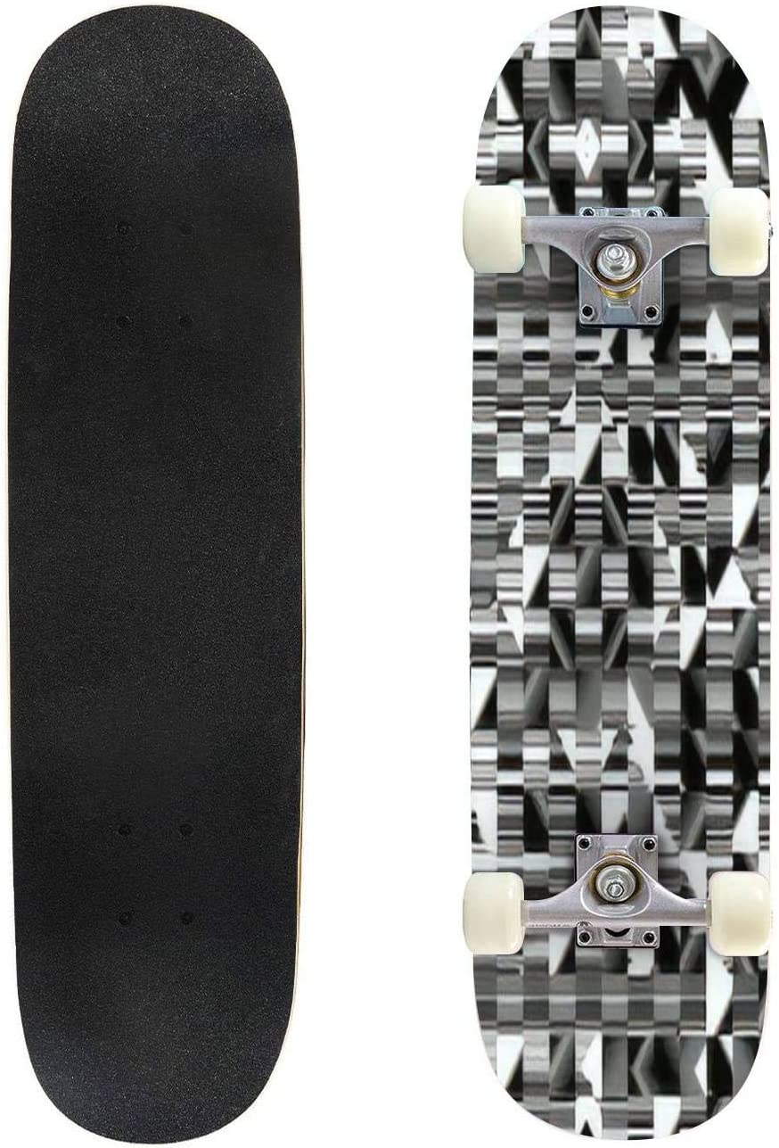 Classic National products Concave Skateboard 2021 autumn and winter new Liguid Watercolor Co Ink Abstract