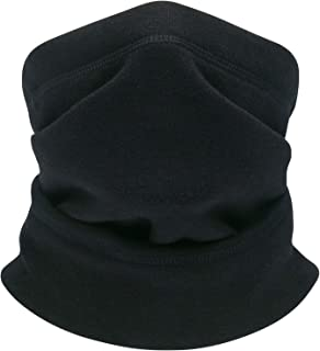 Fleece Thermal Neck Warmer- Neck Gaiter Tube face Scarf Winter Motorcycle Ski Windproof Ear Face Mask