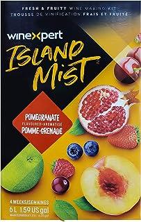 Island Mist Pomegranate Zinfandel Wine Kit by Winexpert