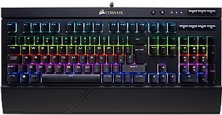 Corsair K68 RGB USB Tastiera QWERTY Spagnolo, Nero
