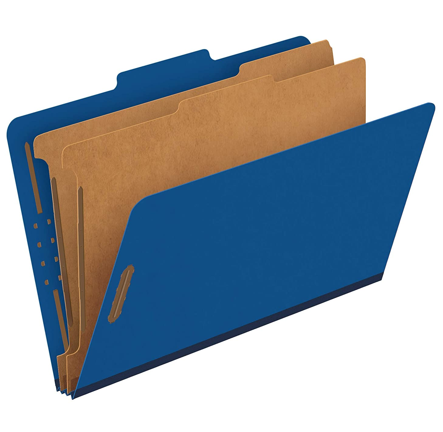 Pendaflex Recycled Classification File Folders, 2 Dividers, 2