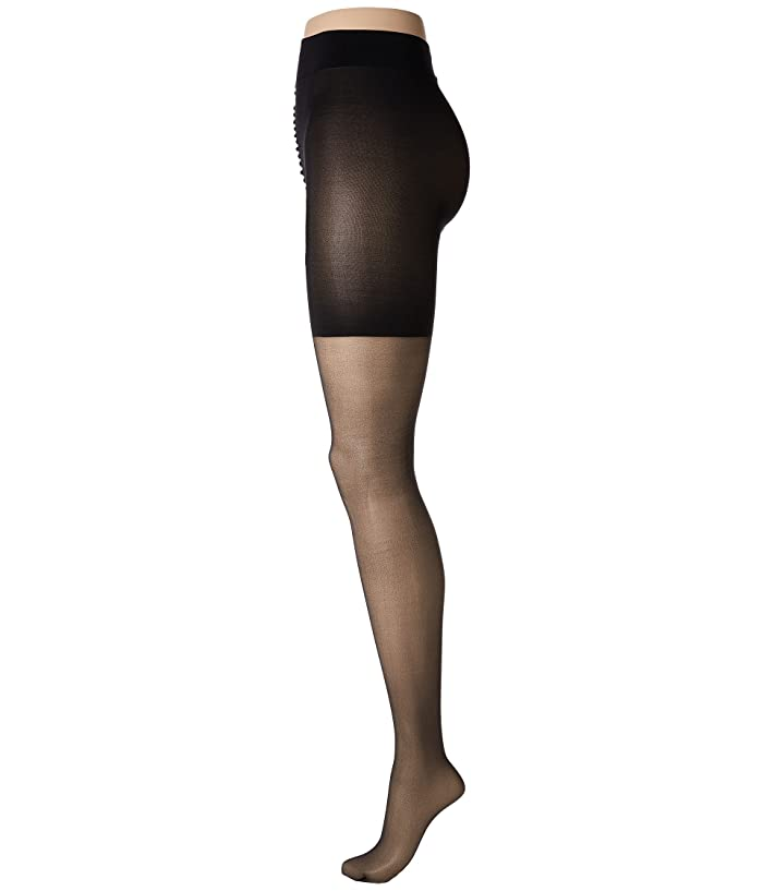 WOLFORD LADIES KNEE HIGHS SMALL NEW RRP £21 BLACK SAHARA COLOUR DOTS NEPTUNE