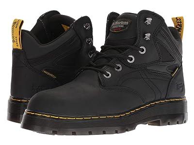 Dr. Martens Work Plenum WP ST 6-Tie Boot (Black) Men