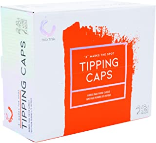 Colortrak X Marks the Spot Disposable Tipping Caps with Neck Protector (48Count + 4 Highlighting Needles)
