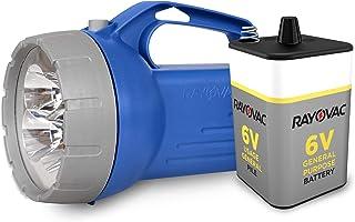 چراغ قوه فانوس LED شناور RAYOVAC ، باتری 6 ولت همراه ، عمر باتری عالی ، شناور برای بازیابی آسان آب ، نور اضطراری