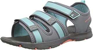 MERRELL Unisex Kid's Hydro Creek Ankle Strap Sandals, Multicolour