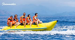 Foammaker Inflatable Towable Fly Fish Boat 3 5 6 Persons Banana Boat Flying Fish Tube