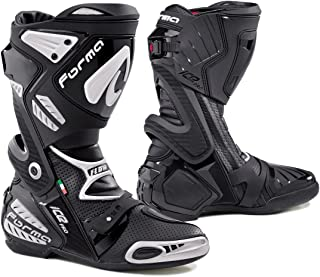 Forma Ice Pro Flow Street Motorcycle Boots (Black, Size 10 US/Size 44 Euro)