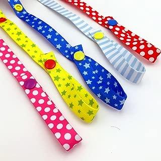 NERLMIAY 5 pcs Baby Kids Bottle Toys Strap Belt Holders for Highchair,Car & Stroller