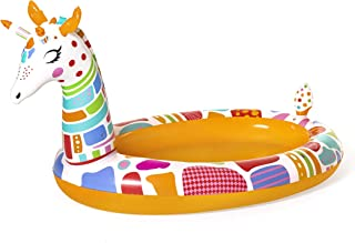 حمام سباحة قابل للنفخ شكل زرافة مع رشاش للاطفال من بيست واي 53089