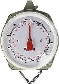 Gino Development 03-0832 TruePower 550 lb Capacity Heavy Duty Metal Hanging Dial Scale